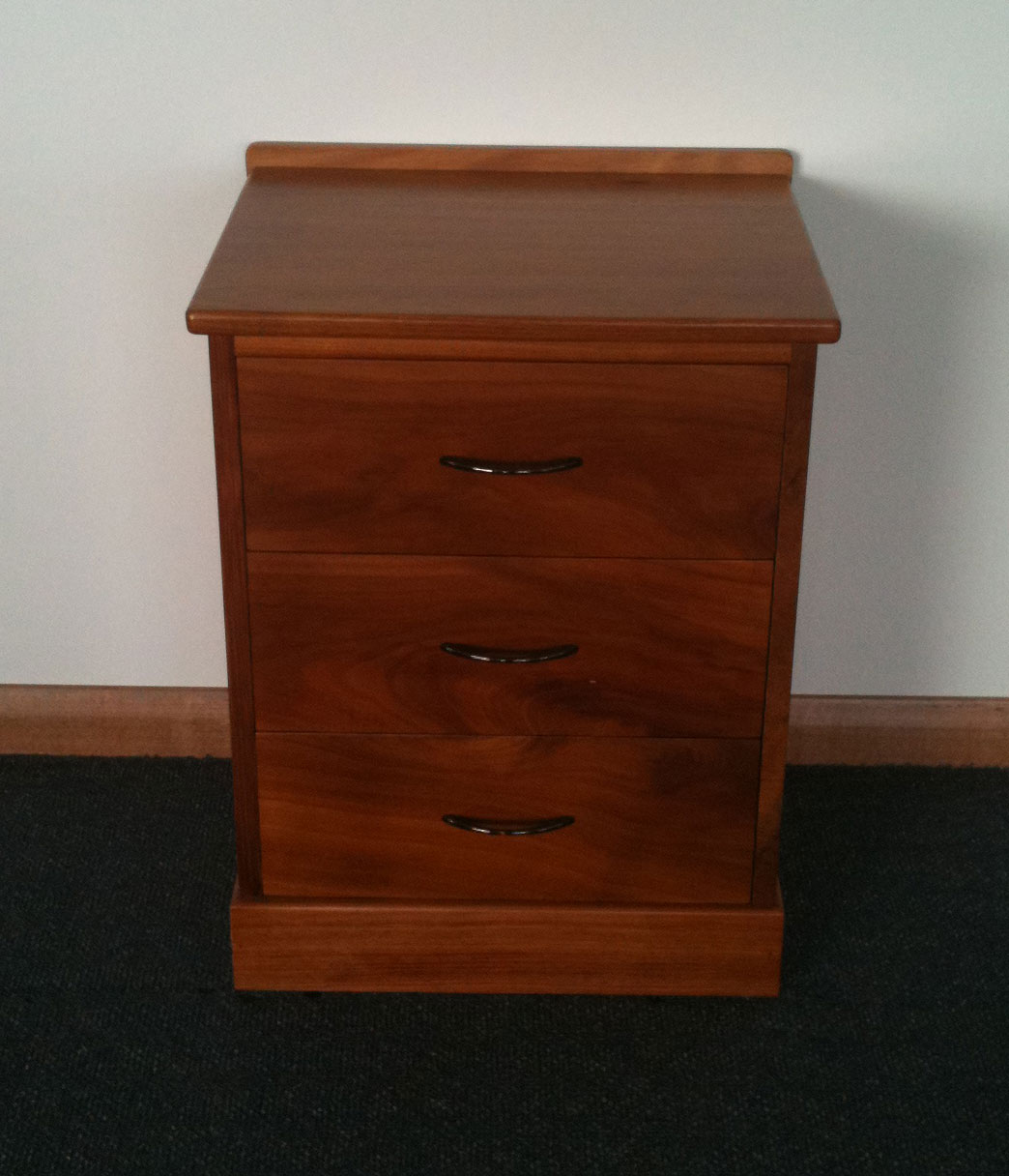 Quill Bedside table - Turners Blackwood Furniture